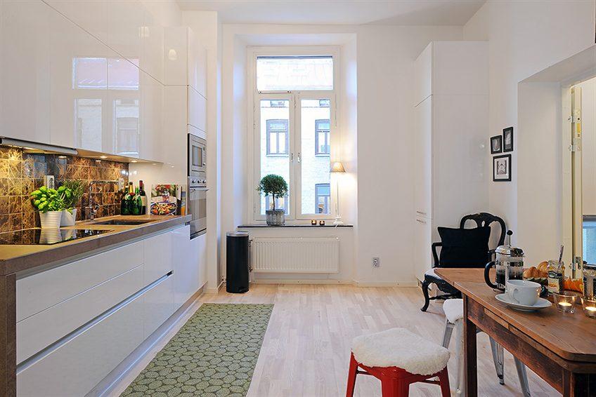 46 m2 bir ev stil defteri for Decoracion casa 35 metros cuadrados