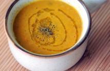 Körili havuç ve pırasa çorbası
