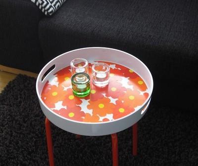 Ikea ile tabureden sehpaya