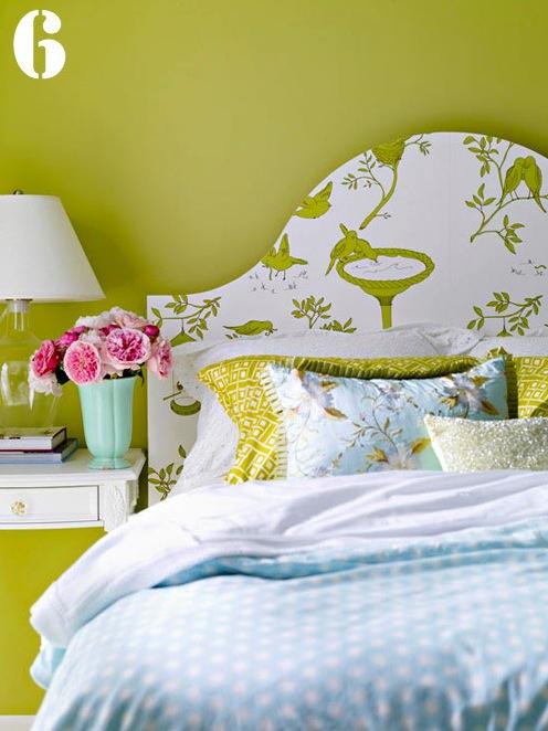 duvar kağıdı yatak başı