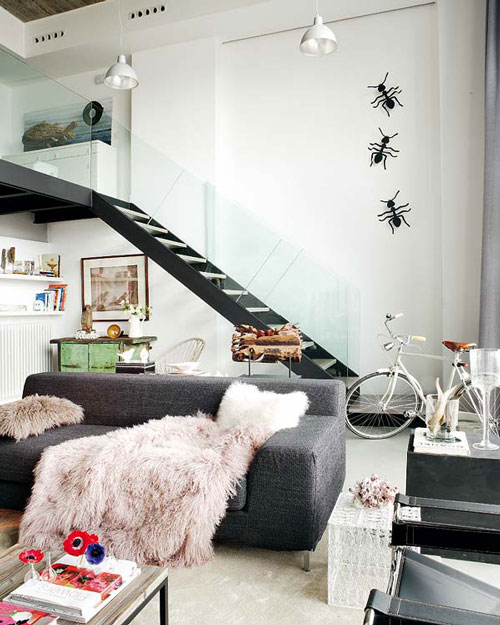Cam trabzanlı merdiven